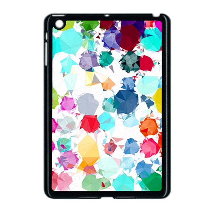 Colorful Diamonds Dream Apple iPad Mini Case (Black)