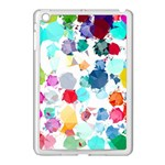 Colorful Diamonds Dream Apple iPad Mini Case (White) Front