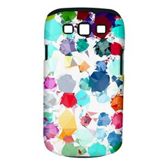 Colorful Diamonds Dream Samsung Galaxy S III Classic Hardshell Case (PC+Silicone)