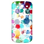 Colorful Diamonds Dream Samsung Galaxy S3 S III Classic Hardshell Back Case Front