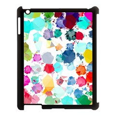 Colorful Diamonds Dream Apple Ipad 3/4 Case (black)