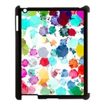 Colorful Diamonds Dream Apple iPad 3/4 Case (Black) Front