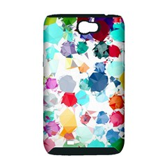 Colorful Diamonds Dream Samsung Galaxy Note 2 Hardshell Case (PC+Silicone)
