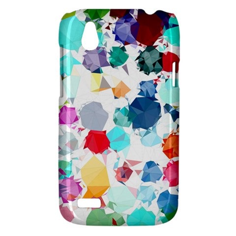 Colorful Diamonds Dream HTC Desire V (T328W) Hardshell Case