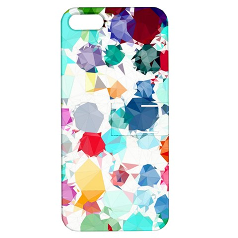 Colorful Diamonds Dream Apple iPhone 5 Hardshell Case with Stand