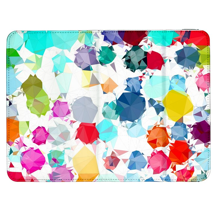 Colorful Diamonds Dream Samsung Galaxy Tab 7  P1000 Flip Case