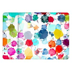 Colorful Diamonds Dream Samsung Galaxy Tab 10 1  P7500 Flip Case