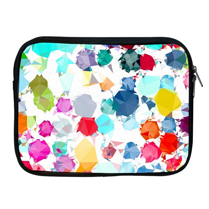 Colorful Diamonds Dream Apple iPad 2/3/4 Zipper Cases