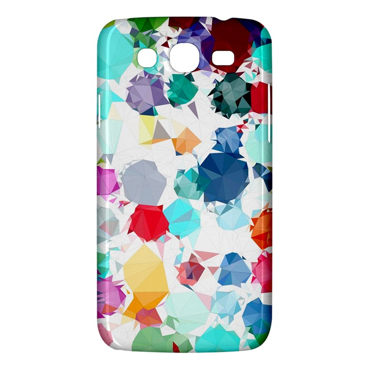 Colorful Diamonds Dream Samsung Galaxy Mega 5.8 I9152 Hardshell Case
