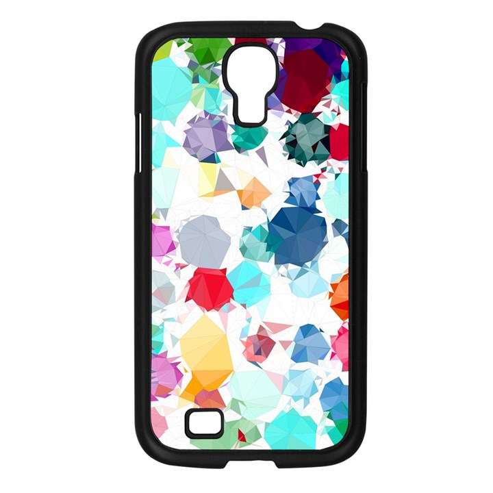 Colorful Diamonds Dream Samsung Galaxy S4 I9500/ I9505 Case (Black)