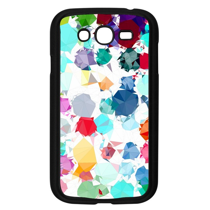 Colorful Diamonds Dream Samsung Galaxy Grand DUOS I9082 Case (Black)