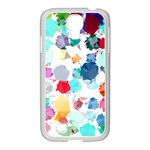 Colorful Diamonds Dream Samsung GALAXY S4 I9500/ I9505 Case (White) Front