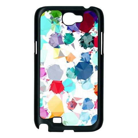 Colorful Diamonds Dream Samsung Galaxy Note 2 Case (Black)