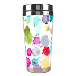 Colorful Diamonds Dream Stainless Steel Travel Tumblers Left