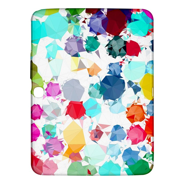 Colorful Diamonds Dream Samsung Galaxy Tab 3 (10.1 ) P5200 Hardshell Case