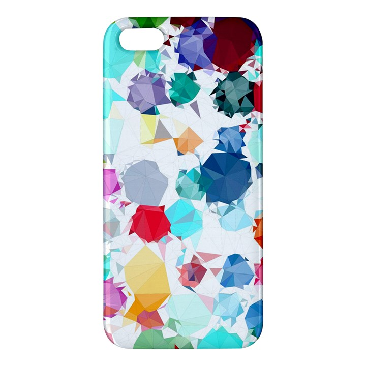 Colorful Diamonds Dream iPhone 5S/ SE Premium Hardshell Case
