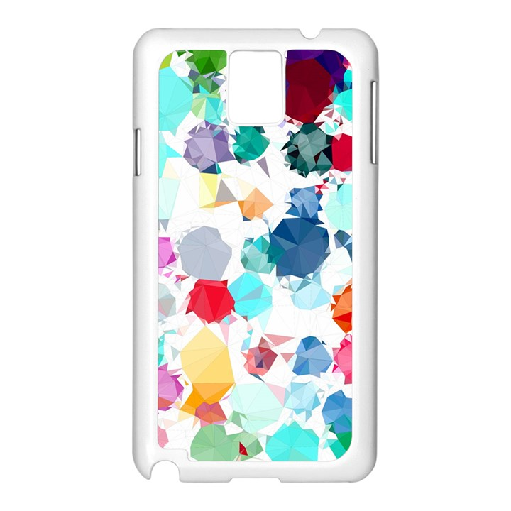 Colorful Diamonds Dream Samsung Galaxy Note 3 N9005 Case (White)