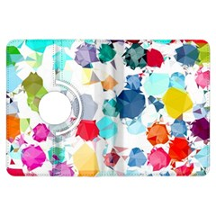 Colorful Diamonds Dream Kindle Fire Hdx Flip 360 Case