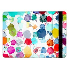 Colorful Diamonds Dream Samsung Galaxy Tab Pro 12 2  Flip Case