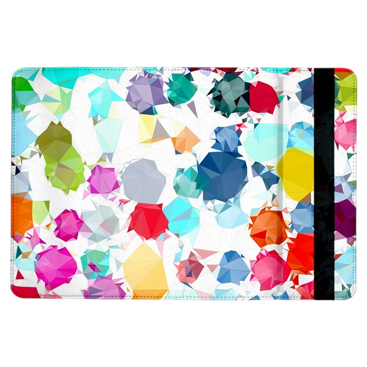 Colorful Diamonds Dream iPad Air Flip