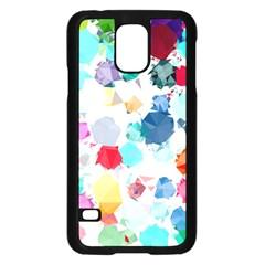 Colorful Diamonds Dream Samsung Galaxy S5 Case (Black)