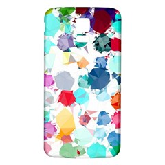 Colorful Diamonds Dream Samsung Galaxy S5 Back Case (white)