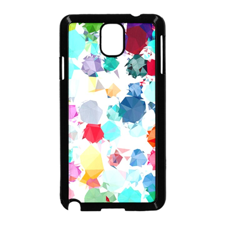 Colorful Diamonds Dream Samsung Galaxy Note 3 Neo Hardshell Case (Black)