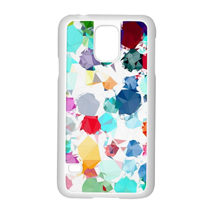 Colorful Diamonds Dream Samsung Galaxy S5 Case (White)