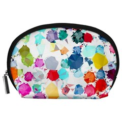 Colorful Diamonds Dream Accessory Pouches (large)