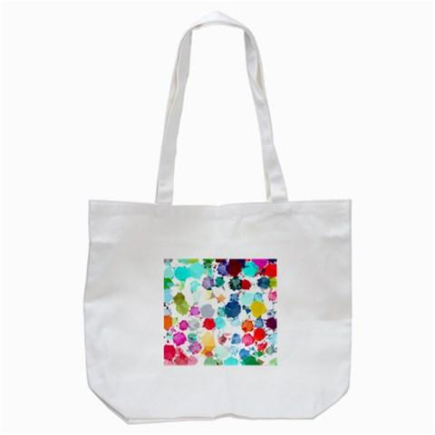 Colorful Diamonds Dream Tote Bag (White)