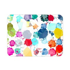 Colorful Diamonds Dream Double Sided Flano Blanket (mini)