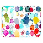 Colorful Diamonds Dream Double Sided Flano Blanket (Large)   Blanket Back