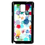 Colorful Diamonds Dream Samsung Galaxy Note 4 Case (Black) Front