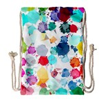 Colorful Diamonds Dream Drawstring Bag (Large) Front