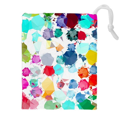 Colorful Diamonds Dream Drawstring Pouches (XXL)
