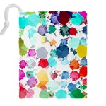 Colorful Diamonds Dream Drawstring Pouches (XXL) Back