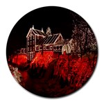 Clifton Mill Christmas Lights Round Mousepads Front
