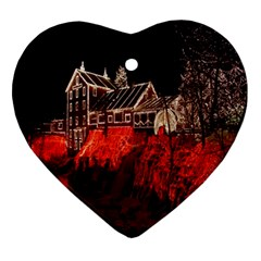 Clifton Mill Christmas Lights Ornament (Heart)