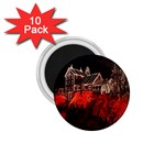 Clifton Mill Christmas Lights 1.75  Magnets (10 pack)  Front