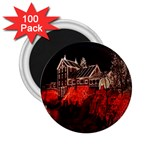 Clifton Mill Christmas Lights 2.25  Magnets (100 pack)  Front