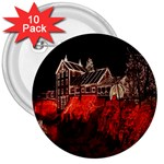 Clifton Mill Christmas Lights 3  Buttons (10 pack)  Front