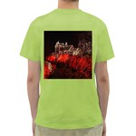 Clifton Mill Christmas Lights Green T-Shirt Back