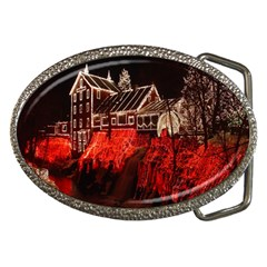 Clifton Mill Christmas Lights Belt Buckles