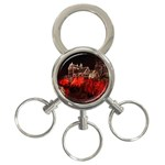 Clifton Mill Christmas Lights 3-Ring Key Chains Front
