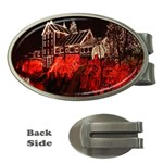 Clifton Mill Christmas Lights Money Clips (Oval)  Front