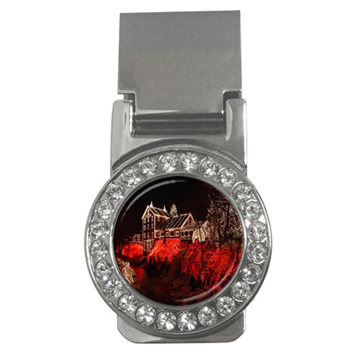 Clifton Mill Christmas Lights Money Clips (CZ)