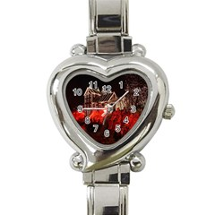 Clifton Mill Christmas Lights Heart Italian Charm Watch