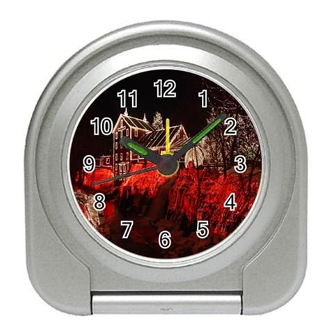 Clifton Mill Christmas Lights Travel Alarm Clocks