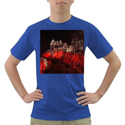 Clifton Mill Christmas Lights Dark T-Shirt