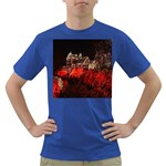 Clifton Mill Christmas Lights Dark T-Shirt Front